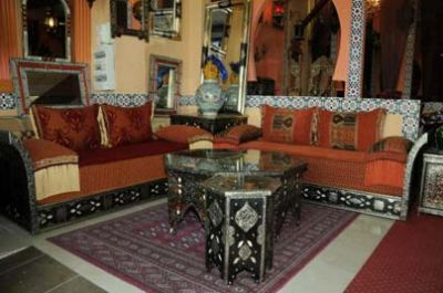 الصالون المغربي رمز الضيافة المغاربية